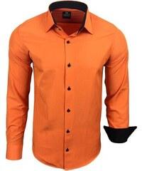 d42a7f75f06 RUSTY NEAL košile pánská R-44 dlouhý rukáv slim fit