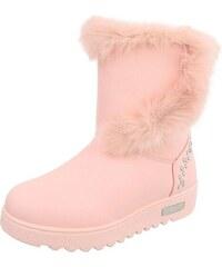 Dámske vysoké zimné topánky s kožušinou a79fe88db5c