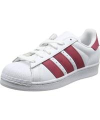 new style ce6b9 9873d adidas Superstar J Cq2690, Sneakers Basses Mixte Enfant, Blanc (White), 35.5