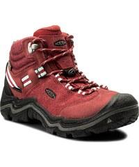 Trekingová obuv KEEN - Wanderer Mid Wp 1014765 Chili Pepper Gargoyle 79eca64735d
