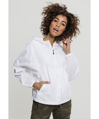 Dámska prechodná bunda URBAN CLASSICS Ladies Oversize Windbreaker white 9d14888e605