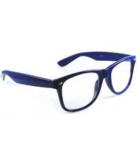 Sunmania číre okuliare Wayfarer 262 modré cd3a312a714