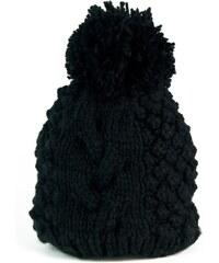 737e9b675bf Art of Polo Háčkovaná čepice černá