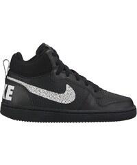Dětské Tenisky Nike COURT BOROUGH MID (GS) BLACK WHITE 025ede03c6