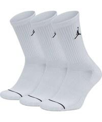 new products 62901 1e94c Jordan Ponožky JUMPMAN CREW 3PPK WHITE WHITE WHITE BLACK