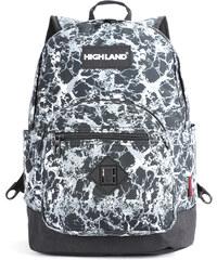 Highland Školní batoh s cool potiskem 498fd8a2b8