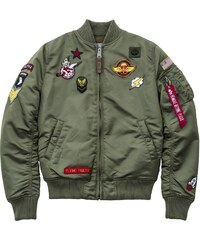 Alpha Industries Bomber Camouflage MA-1 SF Women L - Glami.hu c4bab35866