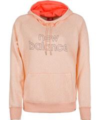 f1e80d47c85 New Balance Sportovní mikina  Essentials  pastelově oranžová