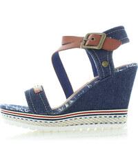 aaa55616495a Refresh Tmavomodré sandále 64292