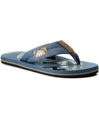 15d7f21aaa2 Žabky TOMMY HILFIGER - Beach Sandal With Stripes FM0FM01597 Monaco ...