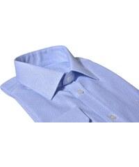 f920ef341430 Alain Delon Modrá business Extra Slim Fit košeľa