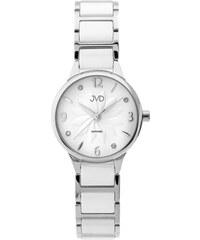 Dámské náramkové keramické hodinky JVD JG1001.1 se safírovým sklem 34084e0969