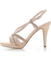179ac2553cc9 Růžové letní elegantní dámské sandály - Glami.cz