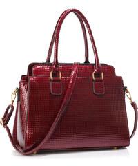 b6e2551961 L S Fashion Kabelka Burgundy Women s Grab Tote Bag LS00419 BURGUNDY