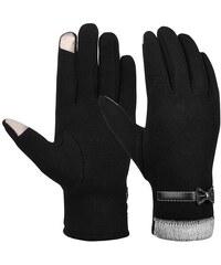 Cixi Dámské podzimní rukavice na dotykový displej 07e2626c5d
