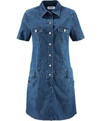 a8235e6126b6 Bonprix Strečové džínsové šaty