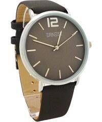 03744234717 Dámské hodinky Ernest Soil tmavě šedé 603D