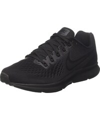 Nike Damen W Air Zoom Pegasus 34 Flyease Traillaufschuhe, Schwarz (Black/White/Dark Grey/Anthracite 001), 37.5 EU