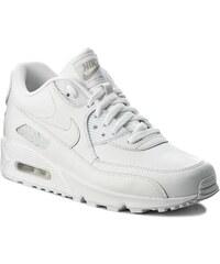 Boty NIKE - Air Max 90 Leather 302519 113 True White True White e2f0f903bc