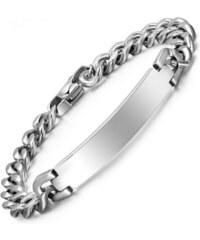27e1b67d7 Ziskoun Náramek z chirurgické oceli - trojitý řetěz CB000085 - Glami.cz