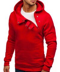 Červená pánska mikina s kapucňou BOLF 06S 935850b00f5