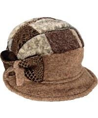 Hnědé dámské klobouky  9e766b1628