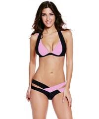 NoName - Dámské push-up plavky růžové c89c3f7425