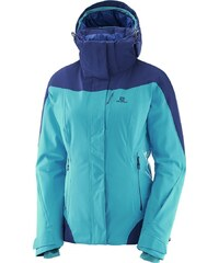 Dámská lyžařská bunda SALOMON BRILLIANT JKT W L40300500 SULPHUR ... 69b0be1c27