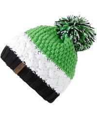 Zelené dámské čepice  fb20a93597