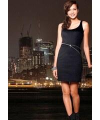 NoName - 01 Dámské společenské šaty na zip černé 2b1cc3bd03