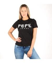 86fa80b919f Pepe Jeans dámské černé tričko Mariona
