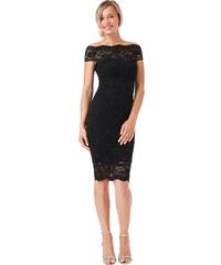 3cafb2e9145 Černé krajkové šaty City Goddess Ornella