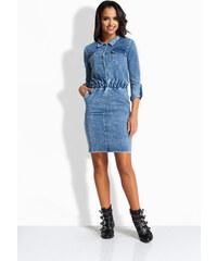 23dc4a98d104 Envy Me Dámske šaty jeansové EM138