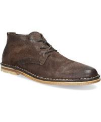 A.s. 98 Pánská kožená kotníčková obuv hnědá 708609579df