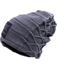Cixi Pánská zimní čepice NC east.05 - šedá 857353238f