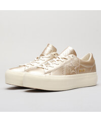 31708dc2ac0 Converse One Star Platform OX light gold   light gold   egret