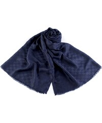 Ang-e Pánský šátek vzor kostka 180 cm Modrý 017366a502