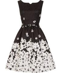 92b0a302075 LINDY BOP Dámské retro šaty Delta Černé poupě