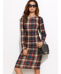 BadLady.sk Krátke viacfarebné kárované šaty 93c7abf1322