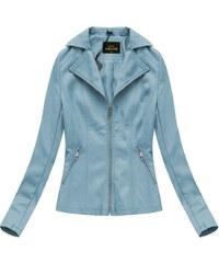 Libland Modrá dámská bunda ramoneska (5324) 43d7b67eb88
