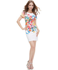 c507c427b61 Ever Pretty přiléhavé krátké šaty s květy 5201