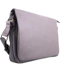 BELLA BELLY Šedá větší pánská taška přes rameno Daniell c57e90555b