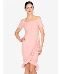 debbc1b4fb Staroružové šaty s odhalenými ramenami AX Paris