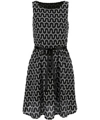 Šaty Vivance Collection princesový styl (vel.44 skladem) 36 černo-bílá Ano 227d5ff9f4