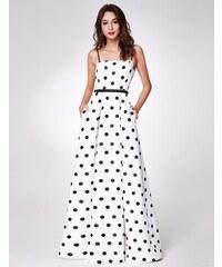 19db057736a Ever Pretty letní dlouhé šaty s puntíky 7214
