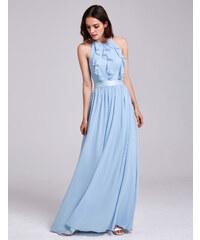 Tmavě modré maturitní zlevněné šaty - Glami.cz 7d6526e9902