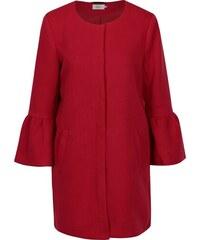b091ea49d6 Červený kabát s volánmi ONLY Sia