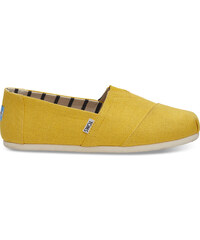 8dc56eb38 Pánske žlté TOMS Lemon Venice Collection Alpargatas