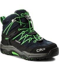 2b1d11a6e90 Trekingová obuv CMP - Kids Rigel Mid Trekking Shoes Wp 3Q12944K B.Blue Gecko
