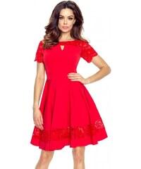 Bergamo Červené šaty Bianca 6d5053f8800